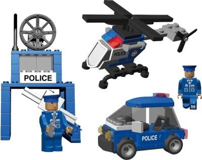 Best Lock 142 Piece Police Crew Block Set