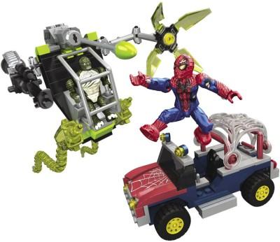 Mega Bloks Spiderman 4 Bridge Showdown Playset