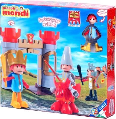 Plastwood Piccoli Mondi Wizard & Dragon Playset
