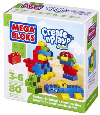 Mega Bloks Building Blocks Box