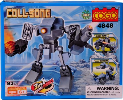 Mera Toy Shop Robot Construction Set -4848