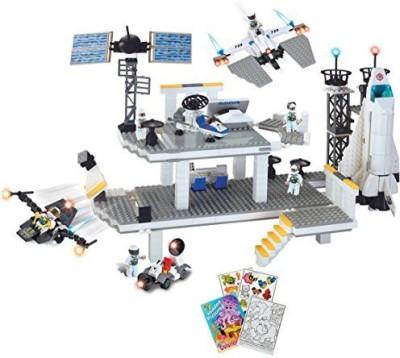 BRICTEK Space Station Buildingset 706Pcs (Compatible With Legos)