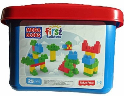 Mega Bloks by Fisher-Price Mega Bloks First Builders 25 Pcs