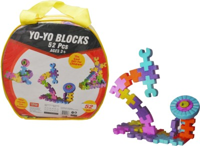 Kreative Kids YoYo More than 52 Pcs Blocks Construction Set - Age 3+