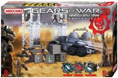 Meccano Gears of War 3 Locust vs Delta Squad Battle Set