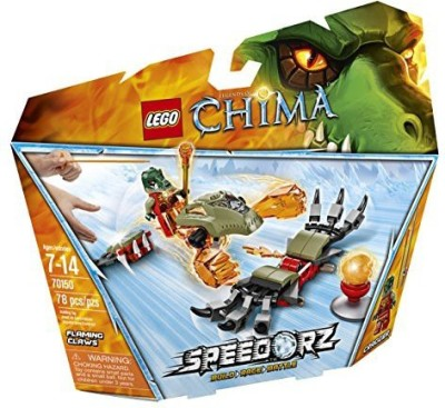 LEGO Chima 70150 Flaming Claws Building