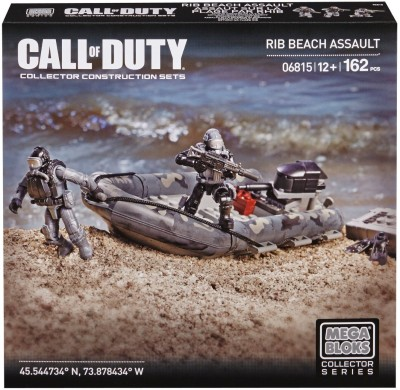 Mega Bloks Mega Bloks Call Of Duty Rib Beach Assault