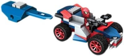 Disney Mega Bloks The Amazing Spider-Man Racer