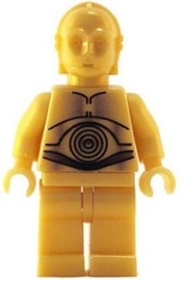 Star Wars Lego Mini C3Po C3Po (Pearl Gold Classic Version)