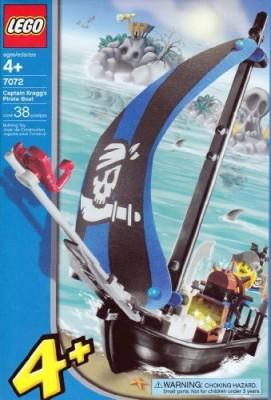 Lego Captain Kragg S Pirate Boat