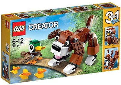 Lego Park Animals(Multicolor)