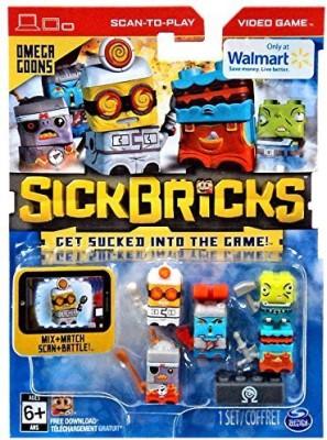 Sick Bricks Spin Docteromega Blastermagna Minionsludge Hammer & Pyro