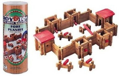 Roy Toy Manufacturing Roy Classic Fort In Large Canister