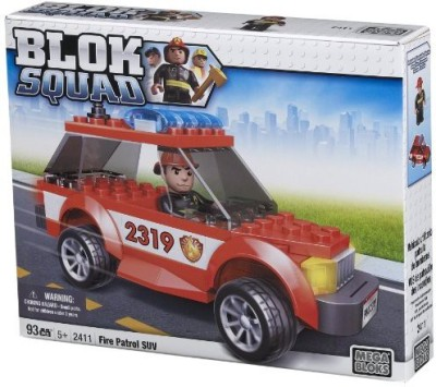 Mega Bloks Squad Fire Patrol Suv