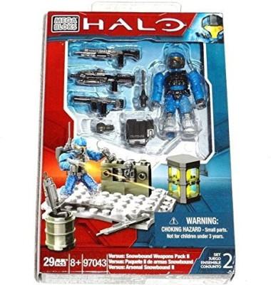 Mega Brands Halo Mega Bloks 97043 Versus Snowbound Weapons Pack Ii