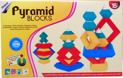 Pyramid Blocks Educational Game