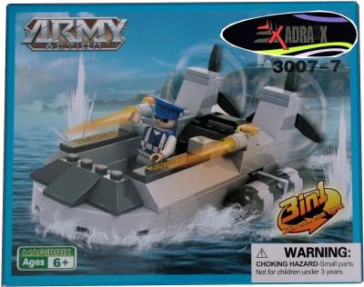 Adraxx DIY Hobby 3D Fighter Army Ship Model Assembling Kit