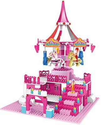 ZTrend Wonderland Deluxe Merrygoround Geared Motion Building Set