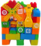 Zest4toyZ Building Blocks Animal giraffe...