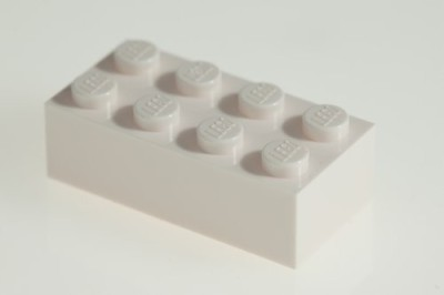 Factory Fresh Bulk Bricks 200X Lego White 2X4 Bricks Super Pack
