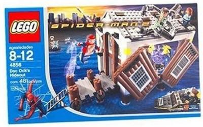 Lego Spiderman 2 Doc Ock,S Hideout (4856)