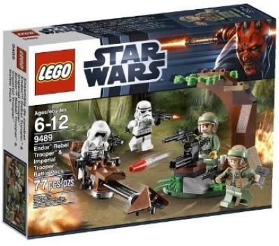 Lego Star Wars 9489: Endor Rebel Trooper And Imperial Trooper