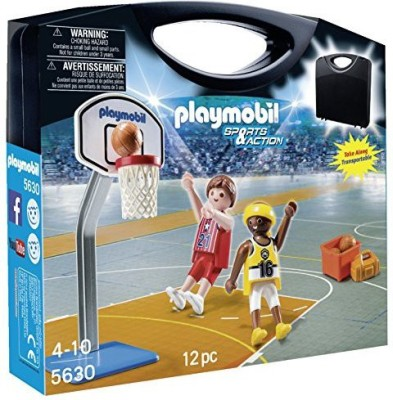 Playmobil Basketball Carrying Case Playset