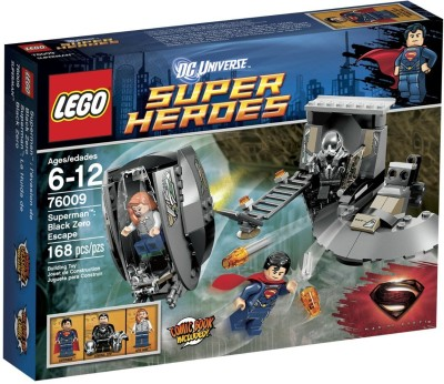 Lego Lego Superheroes Superman Black Zero Escape