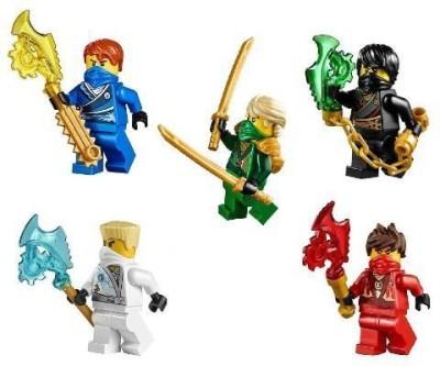 Lego Ninjagotm Ninja,S Set Of 5 Lloydcolejaykaizane Techno Robe