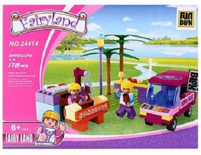 Fun Blox Princess Fairyland Blocks - 172 Pieces