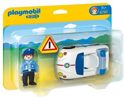 PLAYMOBIL Police Car Vehicle Set