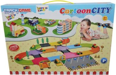 HAPPY KIDS CARTOON CITY TRACK GAME