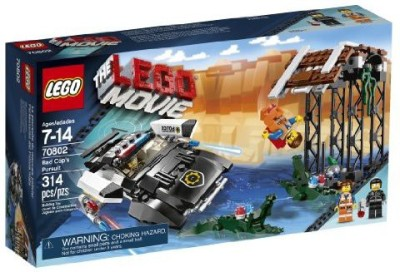 LEGO Movie 70802 Bad Cop's Pursuit(Multicolor)