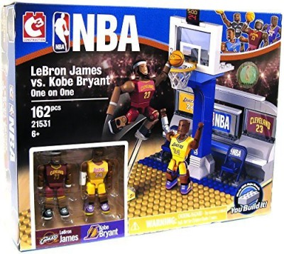 C & C Nba C3 Lebron James Vs. Kobe Bryant Building Set