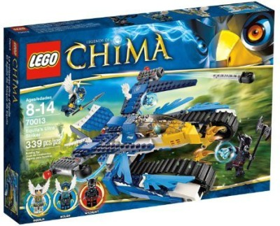 Thomas & Friends Lego Chima Equilas Ultra Striker 70013