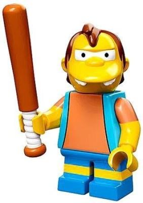 The Simpsons Lego 71005 The Simpson Series Nelson Muntz Simpson