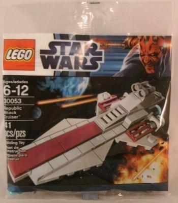 Star Wars Lego 30053 Republic Attack Cruiser