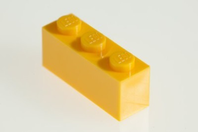 Factory Fresh Bulk Bricks 200X Lego Bright Yellow (Yellow) 1X3 Bricks Super Pack