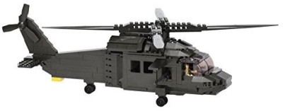 Ultimate Soldier Multi Role Helicopter Military Building Kitgreen