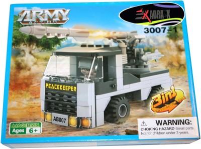 Adraxx DIY Hobby 3D Fighter Truck Model Assembling Kit