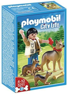 PLAYMOBIL German Shepherd With Puppies