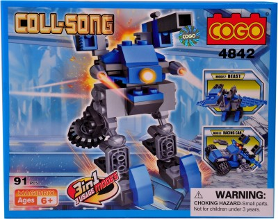 Mera Toy Shop Robot Construction Set -4842