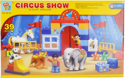 Mera Toy Shop Circus Show 39 pcs