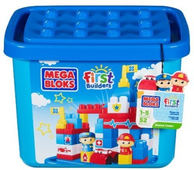Mega Bloks First Builders Rescue Center (Tub)