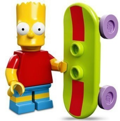 Lego 71005 The Simpsons Series Bart Simpson Character Minis