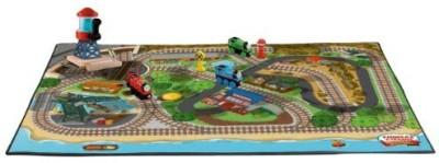 Fisher-Price Thomas the Train Wooden Railway Island of Sodor Felt Playmat