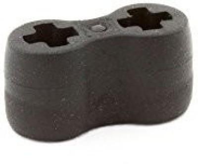 Lego Parts Technicaxle Connector Double Flexible (Rubber) (Black)