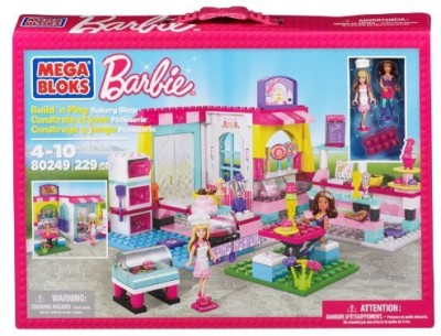 Mega Bloks Megabarbie Build N Play Bakery Shop