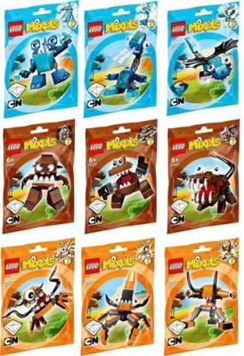 Lego Mixels Series 2 Complete Set Of All S/Characters
