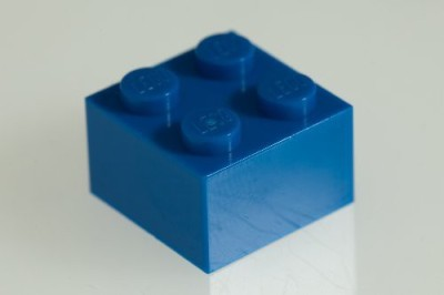 Factory Fresh Bulk Bricks 200X Lego Bright Blue (Blue) 2X2 Bricks Super Pack